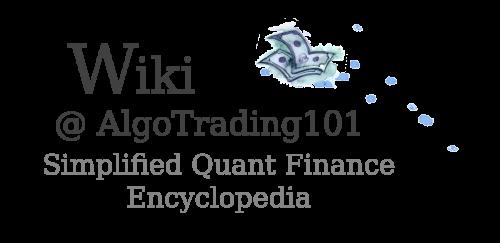 Wiki @ AlgoTrading101