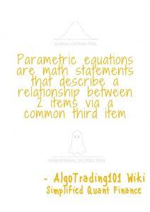 Parametric equations explanation